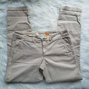 Anthropologie Pilcro Khaki Tan Bootcut Pants